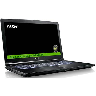 "MSI WE72 7RJ-1032US 17.3"" Full HD (Anti-Glare) Workstation Laptop  /  NVIDIA Quadro M2200 4GB & Windows 10 Professional (Kabylake)"