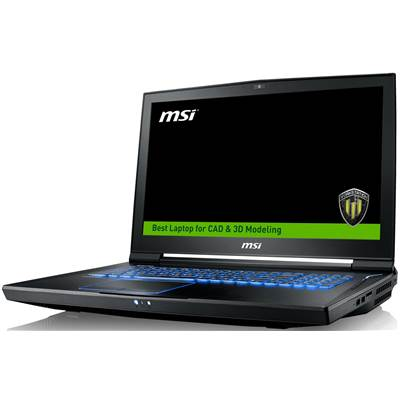 "MSI WT73VR 7RM-648US 17.3"" Full HD Workstation Laptop  /  NVIDIA Quadro P5000 16GB & Windows 10 Professional (Kabylake) (Discontinued)"