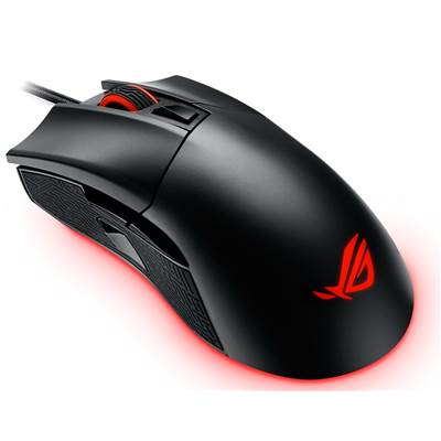 ASUS Republic of Gamers (ROG) Gladius II Professional Gaming Mouse w /  Aura Sync RGB lighting