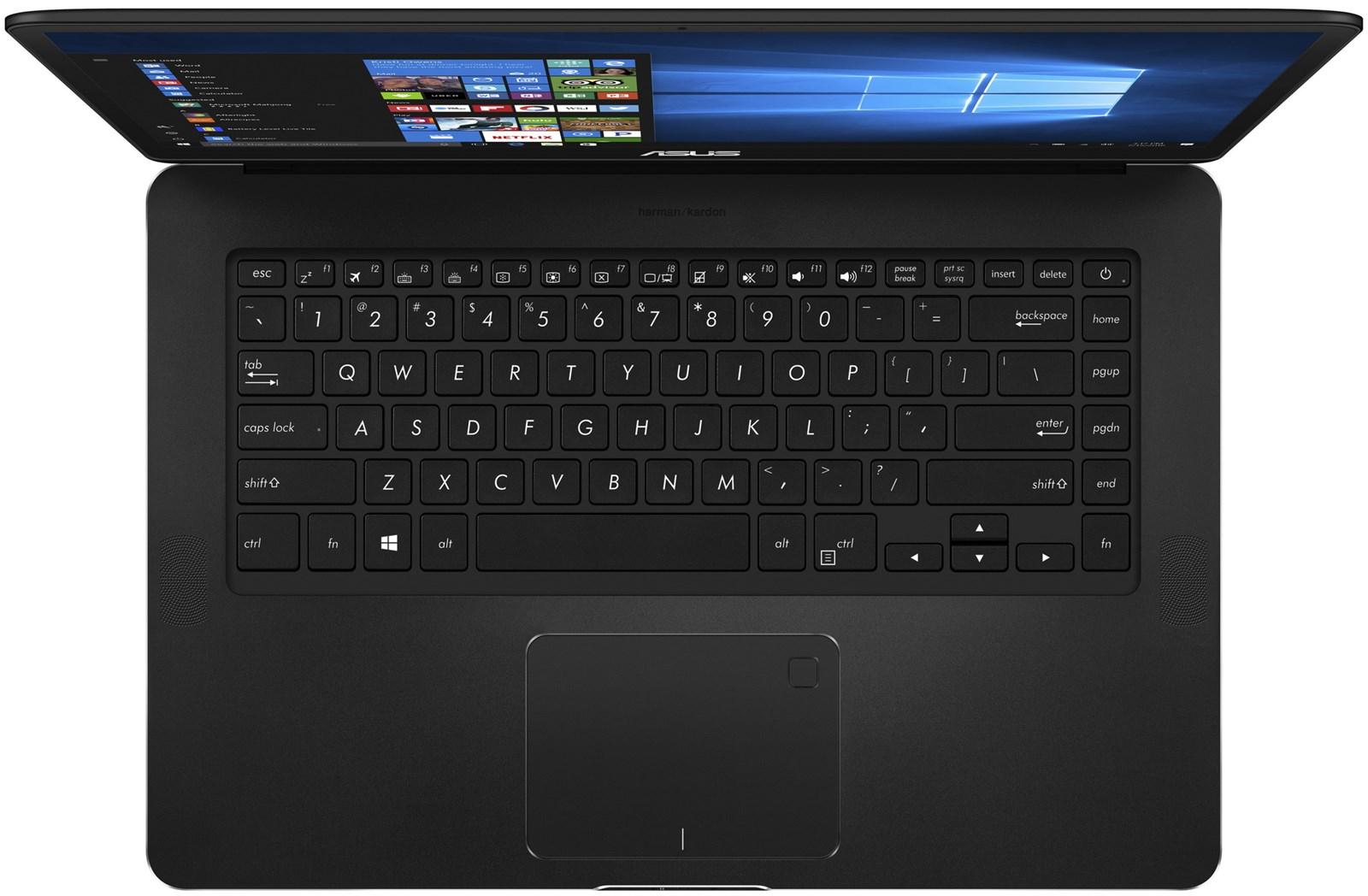 Asus Zenbook Pro Ux550ve Db71t 156 Full Hd Touchscreen Laptop W Frame Keybord X 455 Casing Gtx 1050ti 4gb Matte Black Kabylake