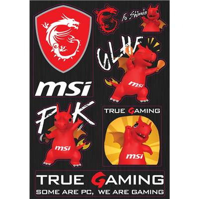 MSI Gaming Sticker (Not for sale)