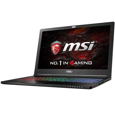 "MSI GS63 STEALTH-062 15.6"" IPS Full HD Gaming Laptop w /  GTX 1050 2GB & Windows 10 Professional (Kabylake)"