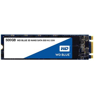 500GB Western Digital Blue 3D NAND M.2 SATA SSD