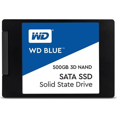 "500GB Western Digital Blue 3D NAND 2.5"" SATA SSD"