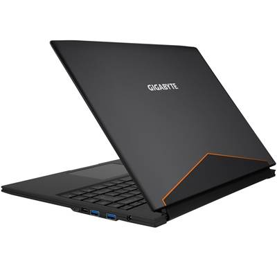 "(OPEN-BOX) GIGABYTE Aero 14Wv7-BK4 14"" QHD IPS Gaming Laptop w /  GTX 1060 6GB (Kabylake- Black)"