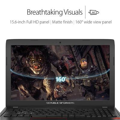 "(OPEN-BOX) ASUS ROG STRIX GL753VD-DS71 17.3"" Full HD Gaming Laptop w /  NVIDIA GTX 1050 4GB (Kabylake)"