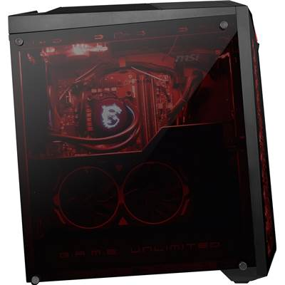 MSI Infinite X 8RG-039US (Mystic Light RGB LED) Gaming Desktop w  /  Core i7-8700 & GTX 1070Ti 8GB GDDR5 (Air Cooled)