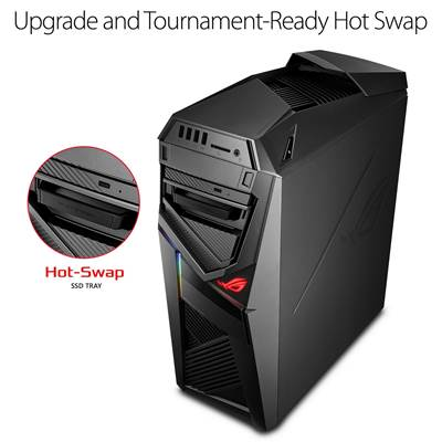 ASUS ROG STRIX GL12CM-DS761 Gaming Desktop w /  NVIDIA GTX 1060 6GB (Coffee Lake Core i7-8700K Unlocked)