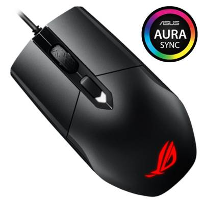 ASUS Republic of Gamers (ROG) Strix Impact Gaming Mouse w /  Aura Sync RGB lighting