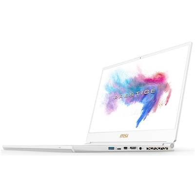 "MSI P65 Creator 8RF-442 (White Limited Edition) 15.6"" 144Hz (7ms) Full HD Creative Professional Laptop w /  GTX 1070 8GB (Coffee Lake Core i7-8750H & Max-Q)"