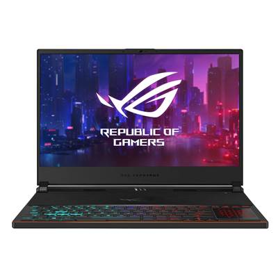 "ASUS ROG Zephyrus S (GX531GX-XS74) 15.6"" 144Hz (3ms) Full HD IPS-Level (Pantone Validated) Compact Gaming Laptop w /  RTX 2080 8GB GDDR6 Max-Q (Core i7-8750H)"