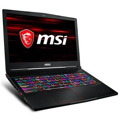 "MSI GE63 Raider RGB-600 15.6"" 144Hz (3ms) IPS-Level Full HD Thin Bezel Gaming Laptop w  /  RTX 2070 8GB GDDR6 (Core i7-9750H)"