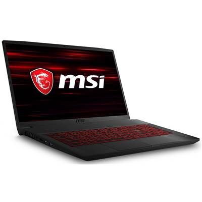 "MSI GF75 THIN 9SC-027 17.3"" Thin Bezel IPS-Level Full HD Gaming Laptop w  /  GTX 1650 4GB GDDR5 Max-Q (Core i7-9750H)"