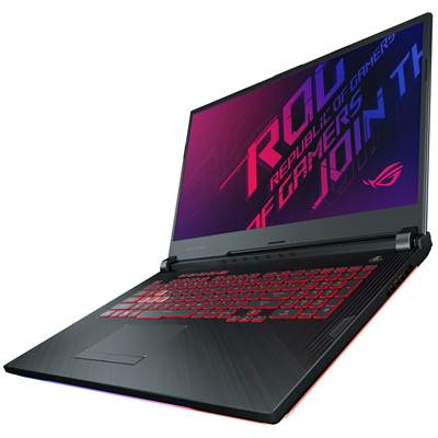 "ASUS ROG STRIX G (GL731GU-RB74) 17.3"" 144Hz (3ms) Full HD IPS-Level Gaming Laptop w /  GTX 1660Ti 6GB GDDR6 (Core i7-9750H)"