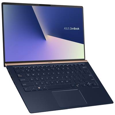 "ASUS ZenBook 14 (UX433FN-IH74) 14"" Full HD Laptop - Royal Blue Metal (Whiskey Lake Core i7-8565U & MX150 Graphics)"