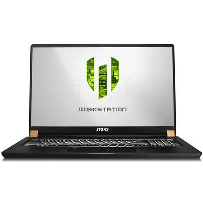 "MSI WS75 9TL-496 17.3"" Thin Bezel Full HD IPS-Level Workstation Laptop  /  NVIDIA Quadro RTX 4000 8GB & Windows 10 Professional (Core i9-9880H)"