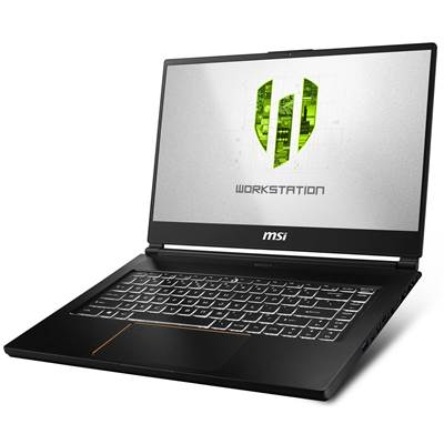 "MSI WS65 8TK-888 15.6"" Thin Bezel Full HD IPS-Level Workstation Laptop  /  NVIDIA Quadro RTX 3000 6GB & Windows 10 Professional (Core i7-8850H)"
