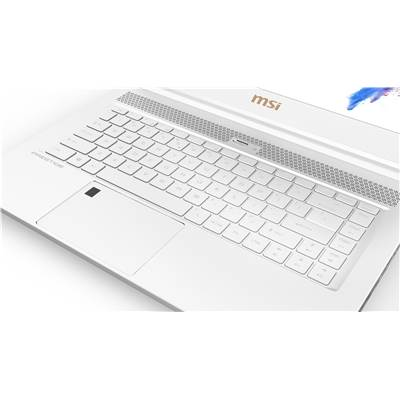"(FACTORY REFURBISHED) MSI P65 Creator 8RF-441 (White Limited Edition) 15.6"" 144Hz (7ms) Full HD Creative Professional Laptop w /  GTX 1070 8GB (Coffee Lake Core i7-8750H & Max-Q)"