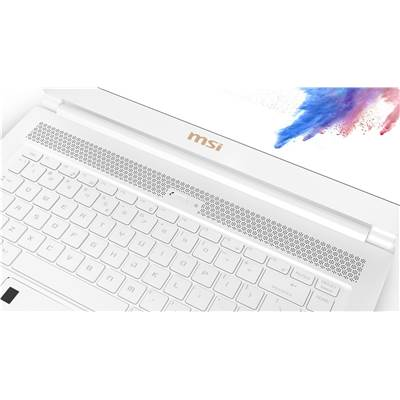"(FACTORY REFURBISHED) MSI P65 Creator 8RF-442 (White Limited Edition) 15.6"" 144Hz (7ms) Full HD Creative Professional Laptop w /  GTX 1070 8GB (Coffee Lake Core i7-8750H & Max-Q)"