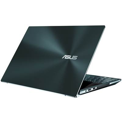 "ASUS ZenBook Pro Duo (UX581GV-XB74T) 15.6"" OLED 4K UHD IPS-Level Touchscreen Laptop w  /  RTX 2060 6GB GDDR6 - Celestial Blue (Coffee Lake Core i7-9750H)"