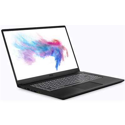 "MSI Modern 15 A10M-014 (Black) 15.6"" Thin Bezel Full HD IPS-Level (100% sRGB) Gaming Laptop (Comet Lake Core i5-10210U)"