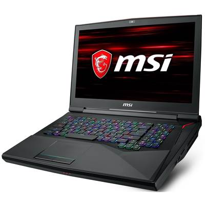 "(OPEN-BOX) MSI GT75 TITAN-094 17.3"" 120Hz (3ms) Full HD Gaming Laptop w  /  GTX 1080 8GB GDDR5X (Coffee Lake Core i9-8950HK Unlocked  /  G-Sync)"