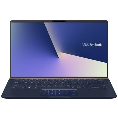 "(FACTORY REFURBISHED) ASUS ZenBook 14 (UX433FA-DH74) 14"" Full HD (Glossy) Laptop - Royal Blue Metal (Whiskey Lake Core i7-8565U)"