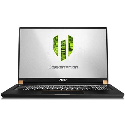 "MSI WS75 9TK-1240 17.3"" Thin Bezel Full HD IPS-Level Workstation Laptop  /  NVIDIA Quadro RTX 3000 6GB & Windows 10 Professional (Xeon E-2276M)"