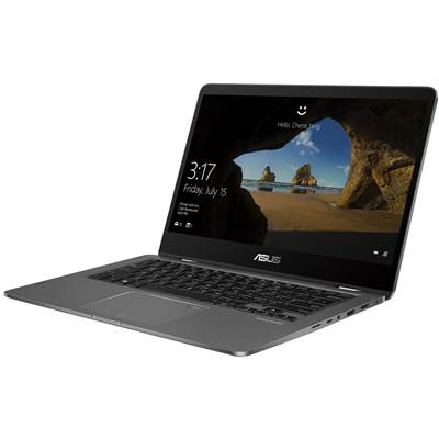 "(FACTORY REFURBISHED) ASUS ZenBook Flip 14 (UX461FN-DH74T) 14"" Full HD Touchscreen (Glossy) Laptop - Slate Grey (Wiskey Lake Core i7-8565U)"