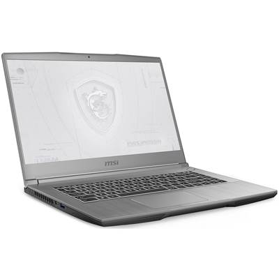 "MSI WF65 10TI-444 15.6"" Thin Bezel Full HD IPS-Level Workstation Laptop  /  NVIDIA Quadro T1000 4GB & Windows 10 Professional (Core i7-10750H)"