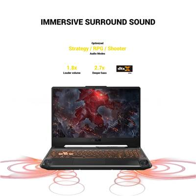 "ASUS TUF A15 (TUF506IH) 15.6"" Full HD IPS-Level Gaming Laptop w /  GTX 1650 4GB GDDR6 (Ryzen 5 4600H)"