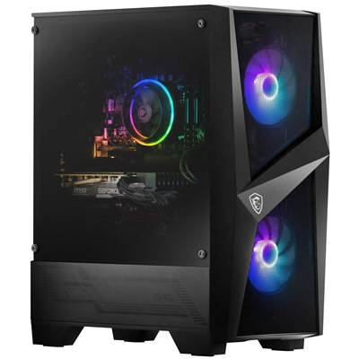 MSI Codex R 10TG-020US Gaming Desktop w  /  NVIDIA GeForce RTX 3060Ti 8GB GDDR6 (Core i7-10700F & Air ARGB CPU Cooler)