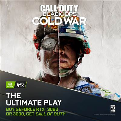 NVIDIA GeForce RTX Game Bundle - Call of Duty: Black Ops Cold War