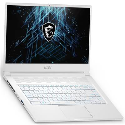 "MSI Stealth 15M A11UEK-220 (White) 15.6"" Thin Bezel 144Hz Full HD IPS-Level Gaming Laptop w /  RTX 3060 Max-Q 6GB GDDR6 (Core i7-11375H)"