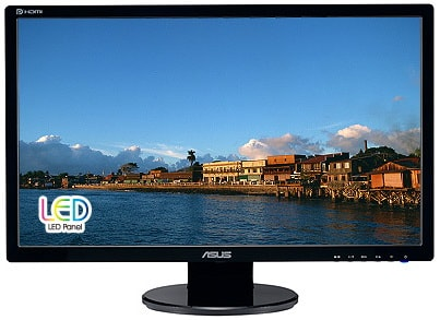 asus ve258q lcd monitor