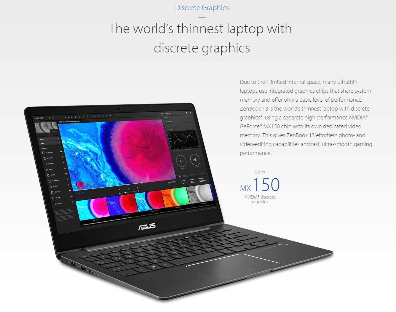 ASUS ZenBook 13 (UX331FN-DH51T) 13 3